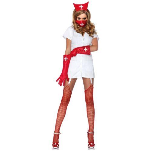 Psycho Nurse Sally 大人用 セクシー ハロウィン コスチューム コスプレ 衣装 変装 仮装