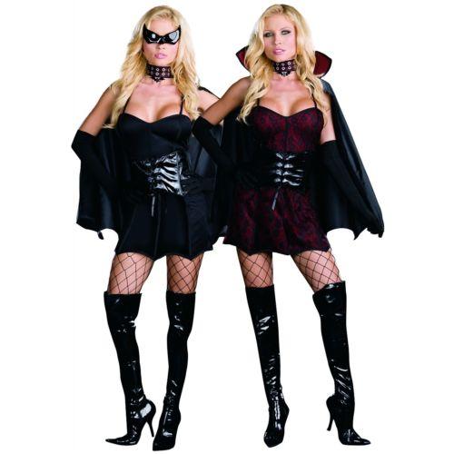 Twice Bitten 大人用 セクシー Reversible バンパイア 吸血鬼/BatStd/プラスサイズ 大きいサイズ クリスマス ハロウィン コスチューム コスプレ 衣装 変装 仮装