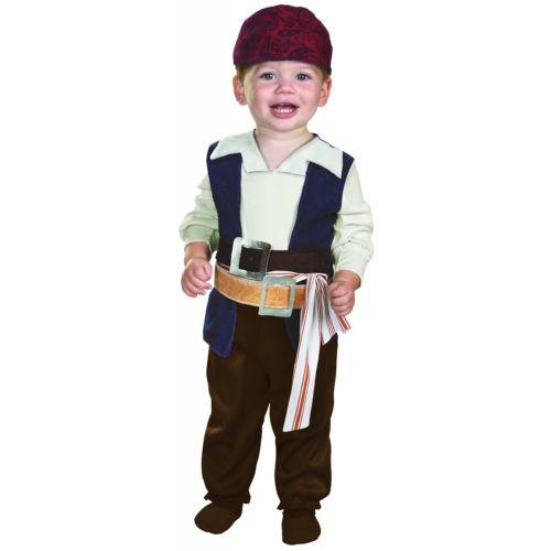 【ポイント最大29倍●お買い物マラソン限定!エントリー】Jack Sparrow ジャックスパロウベイビー Pirates of the caribbean 海賊 パイレーツオブカリビアン ハロウィン コスチューム コスプレ 衣装 変装 仮装