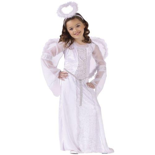 エンジェル 天使 子供用 ガールズ Biblical Nativity クリスマス or ハロウィン コスチューム コスプレ 衣装 変装 仮装
