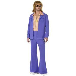 1970s Leisure スーツ 大人用 クリスマス ハロウィン コスチューム コスプレ 衣装 変装 仮装