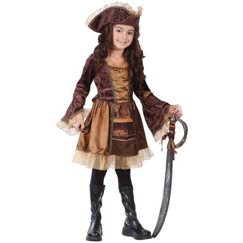 【マラソン全品P5倍】Sassy Victorian Pirate キッズ 子供用 Preteen Tween ガール High Seas Lass クリスマス ハロウィン コスチューム コスプレ 衣装 変装 仮装
