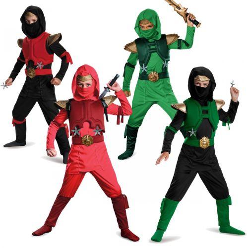 Deluxe ハロウィン Ninja キッズ 仮装 子供用 ハロウィン コスチューム コスプレ 衣装 変装 変装 仮装, 西仙北町:e44ebe7c --- officewill.xsrv.jp