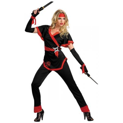 レディス 女性用 Ninja 大人用 レディス 女性用 クリスマス ハロウィン コスチューム コスプレ 衣装 変装 仮装