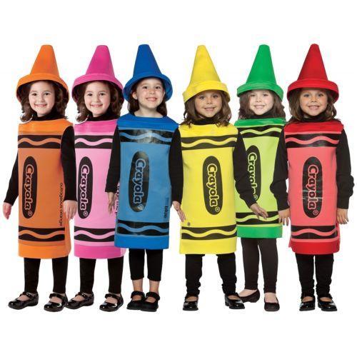 【全品P5倍】Crayola キッズ 子供用 Crayola クリスマス ハロウィン コスチューム コスプレ 衣装 変装 仮装