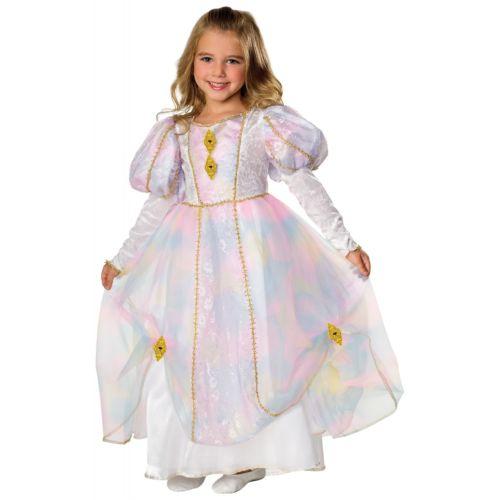 Rainbow プリンセス 王女様 キッズ 子供用 Fairy TaleGown ハロウィン コスチューム コスプレ 衣装 変装 仮装