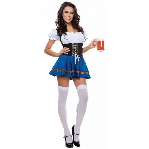 【ポイント最大29倍●お買い物マラソン限定!エントリー】Beer maiden 大人用 Oktoberfest ハロウィン コスチューム コスプレ 衣装 変装 仮装