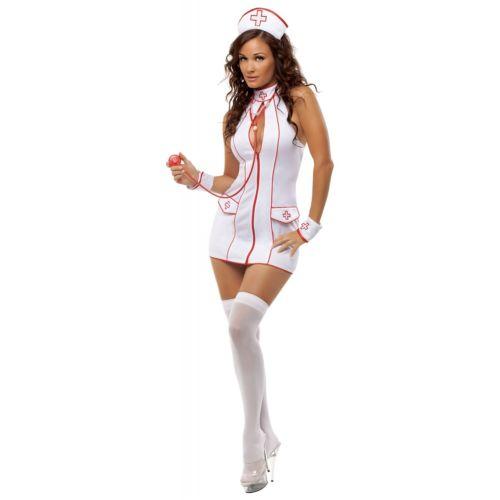 Frisky Nurse 大人用 ハロウィン コスチューム コスプレ 衣装 変装 仮装