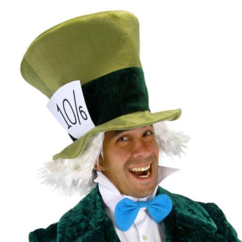 Mad Hatter マッドハッターKit アクセサリー Kit 大人用 男性用 メンズ  ハロウィン コスチューム コスプレ 衣装 変装 仮装