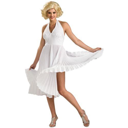 Deluxe Marilyn Monroe マリリンモンロー 大人用 レディス 女性用 セクシー 50's Hollywood Starlet ハロウィン コスチューム コスプレ 衣装 変装 仮装