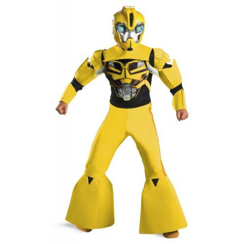 Bumblebee Animated Deluxe キッズ 子供用 Transformers トランスフォーマーRobot ハロウィン コスチューム コスプレ 衣装 変装 仮装