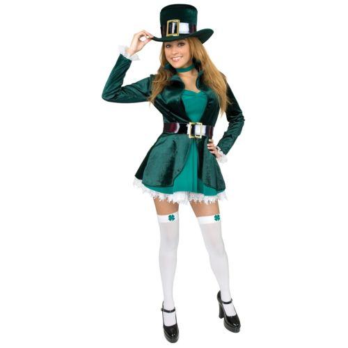 Leprechaun 大人用 セクシー Lucky Irish Lass St. Patrick's DayStd/プラスサイズ 大きいサイズ クリスマス ハロウィン コスチューム コスプレ 衣装 変装 仮装