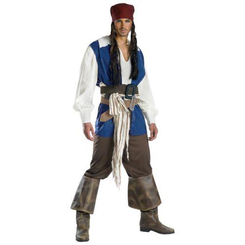 【ポイント最大29倍●お買い物マラソン限定!エントリー】Jack Sparrow ジャックスパロウ 大人用 Pirates of the 海賊 パイレーツオブカリビアン ハロウィン コスチューム コスプレ 衣装 変装 仮装
