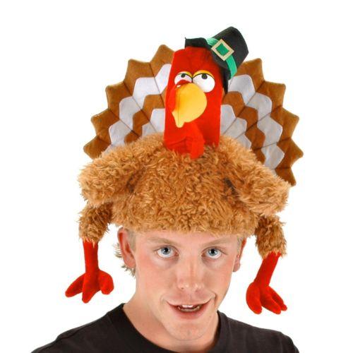 Turkey Hat for 大人用s & キッズ 子供用 おもしろい Thanksgiving ハロウィン コスチューム コスプレ 衣装 変装 仮装