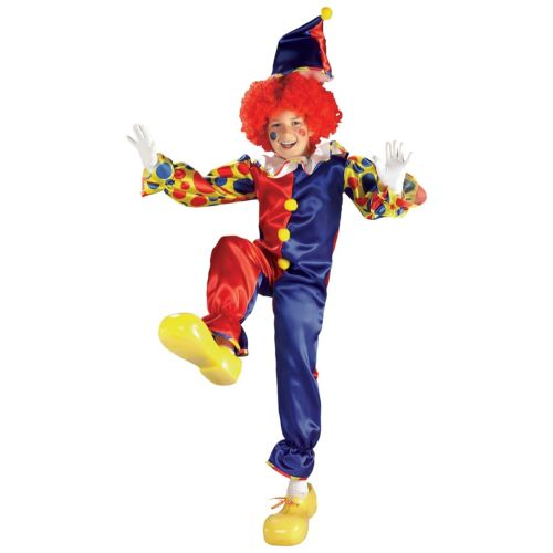 Bubbles the クラウン ピエロ 道化師 キッズ 子供用 Circus クリスマス ハロウィン コスチューム コスプレ 衣装 変装 仮装