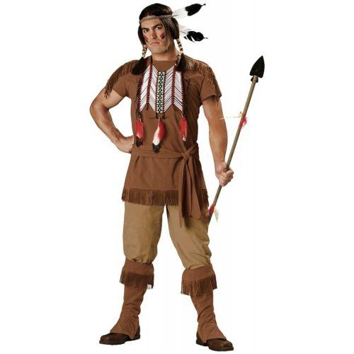 インディアン 大人用 男性用 メンズ Native American Warrior クリスマス ハロウィン コスチューム コスプレ 衣装 変装 仮装