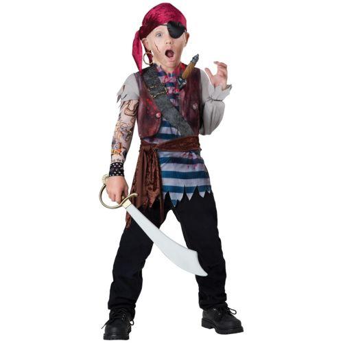 【ポイント最大29倍●お買い物マラソン限定!エントリー】Pirate 子供用 ガールズ おもしろい ゾンビ 幽霊 お化け ハロウィン コスチューム コスプレ 衣装 変装 仮装