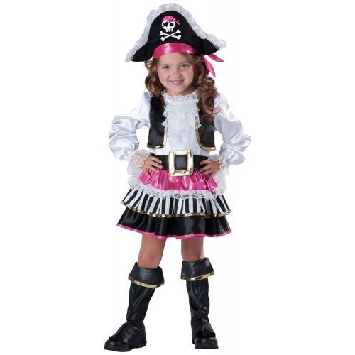 Toddler Pirateガール Pirate クリスマス ハロウィン コスチューム コスプレ 衣装 変装 仮装