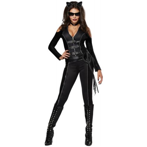 Cat Woman 大人用 レディス 女性用 Superhero ハロウィン コスチューム コスプレ 衣装 変装 仮装