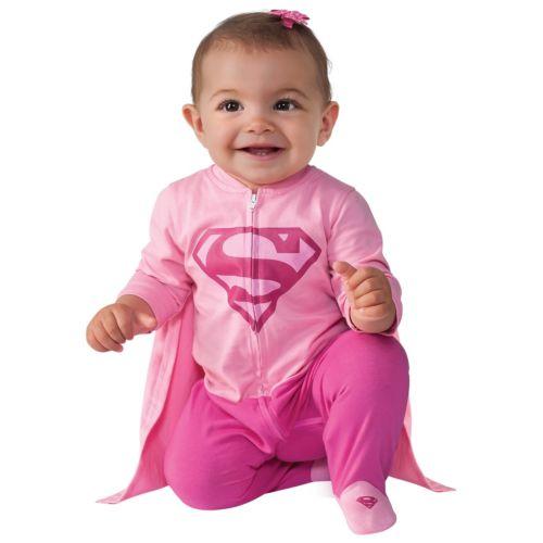 【マラソン全品P5倍】Supergirl Romperベイビー Supergirl クリスマス ハロウィン コスチューム コスプレ 衣装 変装 仮装