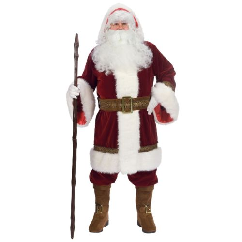 Santa スーツ Victorian Deluxe Victorian クリスマス Old World 変装 Claus クリスマス ハロウィン コスチューム コスプレ 衣装 変装 仮装, 常陸太田市:4c30c0c3 --- officewill.xsrv.jp