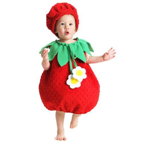 【ポイント最大29倍●お買い物マラソン限定!エントリー】ベイビー StrawberryInfant-Toddler ガール Fruit ハロウィン コスチューム コスプレ 衣装 変装 仮装