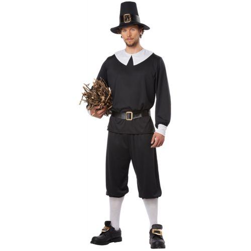 【ポイント最大29倍●お買い物マラソン限定!エントリー】Pilgrim Man 大人用 Thanksgiving ハロウィン コスチューム コスプレ 衣装 変装 仮装