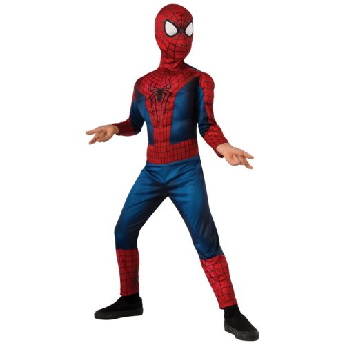 Deluxe Spider-Man スパイダーマン2 キッズ 子供用 Spider-Man スパイダーマン ハロウィン コスチューム コスプレ 衣装 変装 仮装