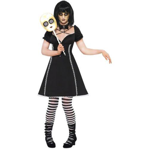 【ポイント最大29倍●お買い物マラソン限定!エントリー】Creepy Doll 大人用 ゴシック 怖い Outfit ハロウィン コスチューム コスプレ 衣装 変装 仮装