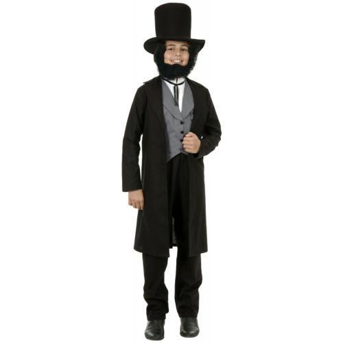 <title>Abe Lincoln Costume Kids President Abraham Patriotic Halloween Fancy Dress 4日~ 全品P5倍 クーポン有 引き出物 キッズ 子供用 クリスマス ハロウィン コスチューム コスプレ 衣装 変装 仮装</title>