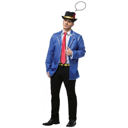 【ポイント最大29倍●お買い物マラソン限定!エントリー】Pop Art 大人用 80s 男性用 メンズ ハロウィン コスチューム コスプレ 衣装 変装 仮装