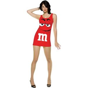 【ポイント最大29倍●お買い物マラソン限定!エントリー】M&M Tank ドレス 大人用 M&M's ハロウィン コスチューム コスプレ 衣装 変装 仮装