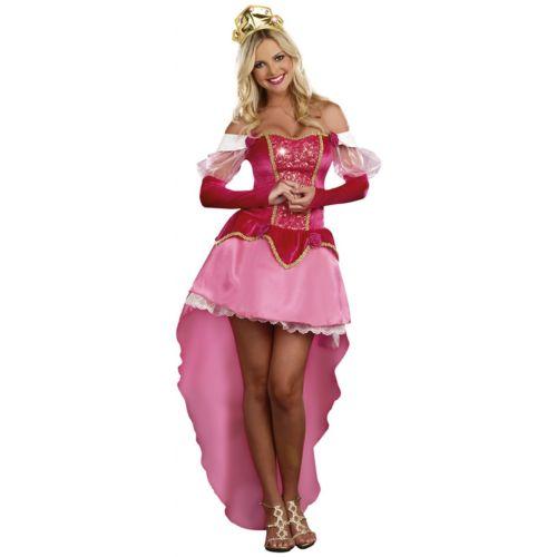 Sleeping プリンセス 王女様 大人用 ハロウィン コスチューム コスプレ 衣装 変装 仮装