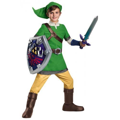 Deluxe Link キッズ 子供用 The Legend of Zelda ハロウィン コスチューム コスプレ 衣装 変装 仮装