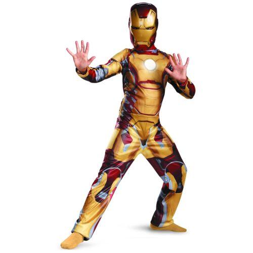 【ポイント最大29倍●お買い物マラソン限定!エントリー】Iron Man アイアンマン3 Mark 42 クラシック キッズ 子供用 スーパーヒーロー Movie ハロウィン コスチューム コスプレ 衣装 変装 仮装