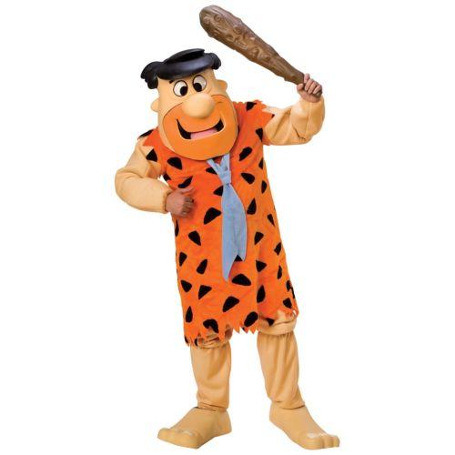 【マラソン全品P5倍】Fレッド Flintstone 大人用 Mascot The Flintstones クリスマス ハロウィン コスチューム コスプレ 衣装 変装 仮装