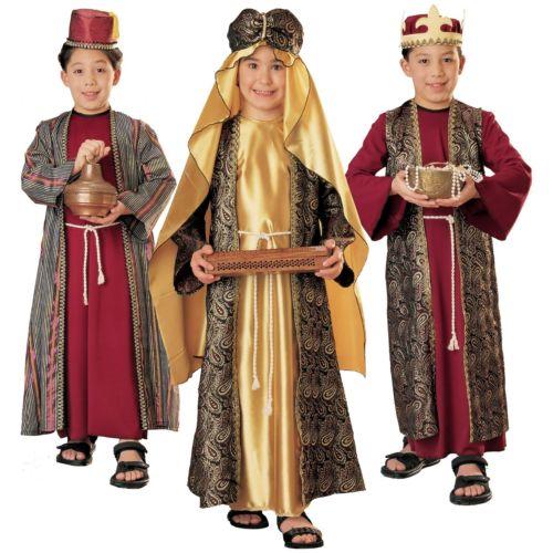 【店内全品P5倍】Three Wise Men 子供用 ガールズ 3 Kings クリスマス Nativity クリスマス ハロウィン コスチューム コスプレ 衣装 変装 仮装
