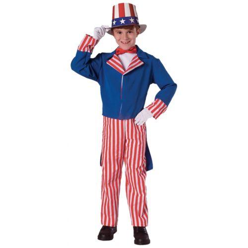 Uncle Sam キッズ 子供用 4th of July ハロウィン コスチューム コスプレ 衣装 変装 仮装