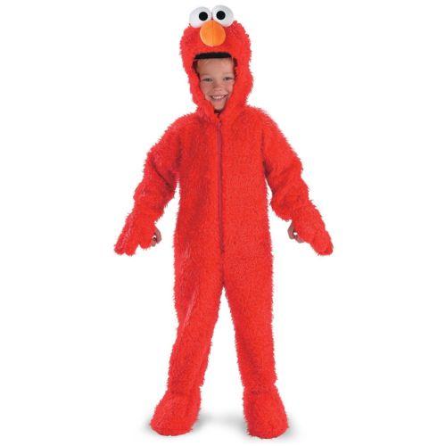 ElmoToddler キッズ 子供用 Deluxe Plush モンスター ハロウィン コスチューム コスプレ 衣装 変装 仮装
