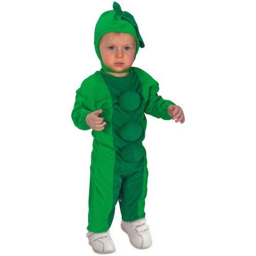 Pea in a Podベイビー Romper & ヘッドピース クリスマス ハロウィン コスチューム コスプレ 衣装 変装 仮装