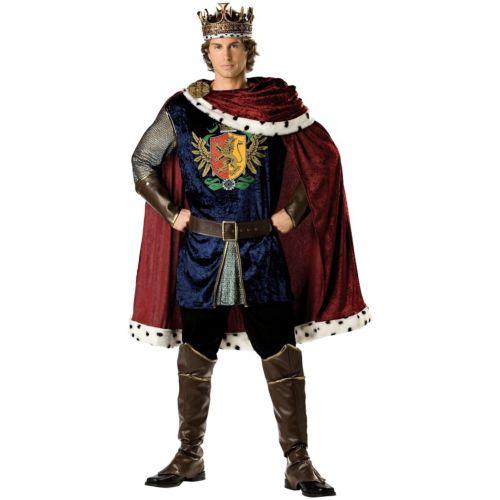 King 大人用 男性用 メンズ Medieval Renaissance Arthur クリスマス ハロウィン コスチューム コスプレ 衣装 変装 仮装