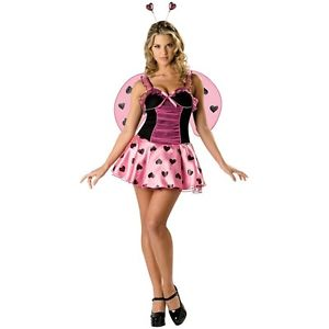 【ポイント最大29倍●お買い物マラソン限定!エントリー】Luscious Love Bug 大人用 Ladybug Lady ハロウィン コスチューム コスプレ 衣装 変装 仮装