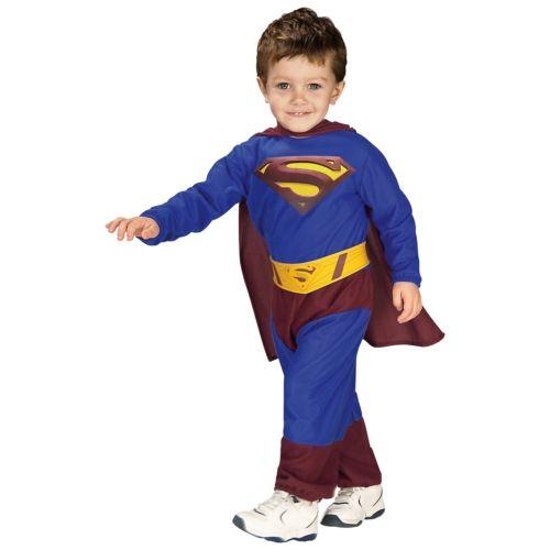 【ポイント最大29倍●お買い物マラソン限定!エントリー】Superman スーパーマン Toddler ベイビー Infant Boys Superhero ハロウィン コスチューム コスプレ 衣装 変装 仮装