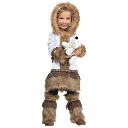 EskimoToddler キッズ 子供用 or クリスマス ハロウィン コスチューム コスプレ 衣装 変装 仮装