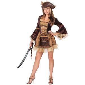 Sassy Victorian Pirate セクシー Vixen Wench 大人用 クリスマス ハロウィン コスチューム コスプレ 衣装 変装 仮装