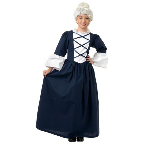 Martha Washington キッズ 子供用 変装 ハロウィン コスチューム コスプレ 衣装 Martha 衣装 変装 仮装, いぶしの館 なかよしミート:090f3bac --- officewill.xsrv.jp