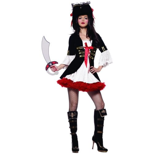 Captain Swashbuckler 大人用 Pirate クリスマス ハロウィン コスチューム コスプレ 衣装 変装 仮装