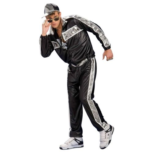 【ポイント最大29倍●お買い物マラソン限定!エントリー】Rap Star80s/90s Vanilla Hip Hop おもしろい Ice Bling ハロウィン コスチューム コスプレ 衣装 変装 仮装