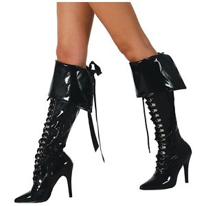 【全品P5倍】Pirate Boot Cuffs 大人用 レディス 女性用 アクセサリー クリスマス ハロウィン コスチューム コスプレ 衣装 変装 仮装