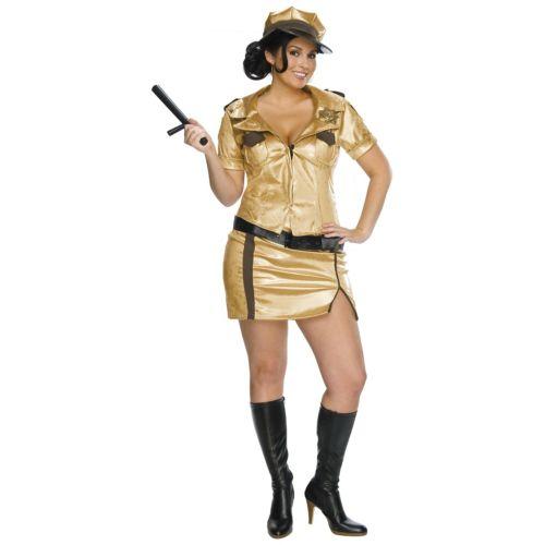 プラスサイズ 大きいサイズ ポリス ポリスマン 警察 おまわりさん 大人用 Police ポリス 警察 おまわりさん Woman おもしろい Reno 911 ハロウィン コスチューム コスプレ 衣装 変装 仮装